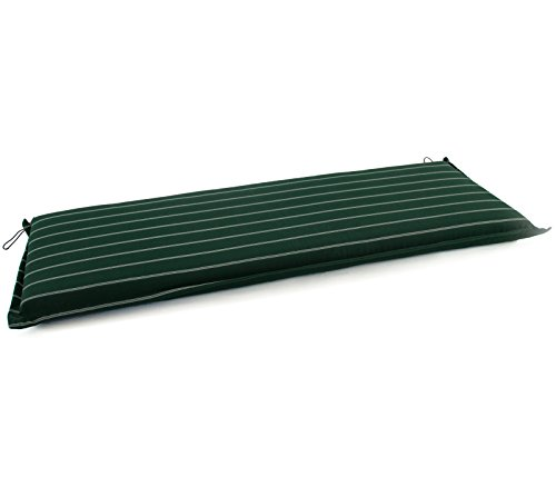 Hambiente Hambiente 4-Sitzer Bankauflage ca. 176 x 50 cm mit Reißverschluss, Bezug abnehmbar, waschbar tannengrün