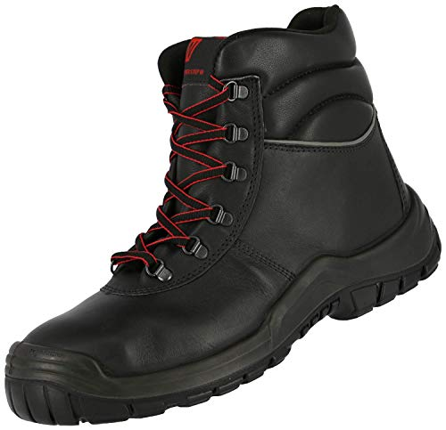 S3 Power Step III 7213 HRO SRC - Botas Seguridad para Hombre - Calzado Trabajo con Puntera de Acero - Botines Robusta Antideslizantes - Cuero