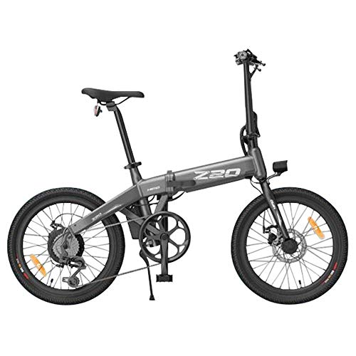 HIMO Z20 Folding Electric Bike for Adults, Mens Mountain Bike, 20' Electric Bicycle/Commute E-bike with 250W Motor, 36V 10Ah Battery, Shock Absorber, Professional 6-speed transmission Gears (Gray)