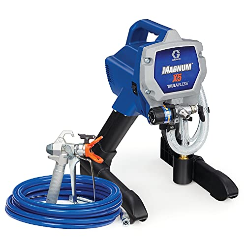 Graco Magnum X5 Stand Airless Paint Sprayer, Blue