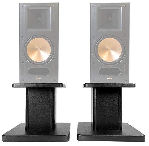 Buy Bargain (2) 8 Black Bookshelf Speaker Stands for Pair Klipsch RB-81 Bookshelf Speakers