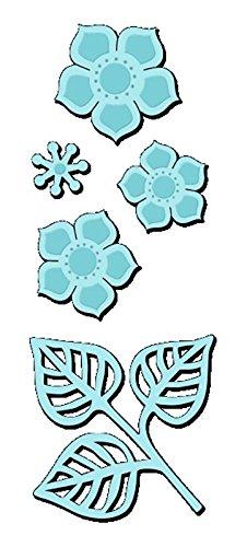 Sweet Dixie Ludique Octopus Die, en MÉTAL, Gris, Métal, Gris, 7.1x7.1x0.1 cm
