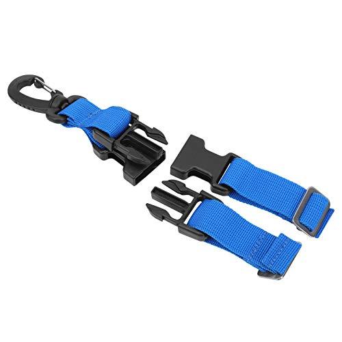 Aoutecen Buceo Aleta Guardián Correa Herramienta confiable Ligero para Nadar(Blue)