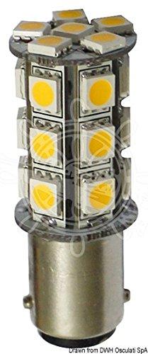 OSCULATI Ampoule LED 12/24 V BA15D 3,6 W 264 LM