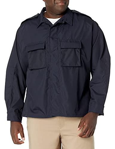 Propper T-Shirt à Manches Longues pour Homme, Mixte Adulte Homme, BDU Shirt - Long Sleeve, LAPD Navy, 3X Large Long