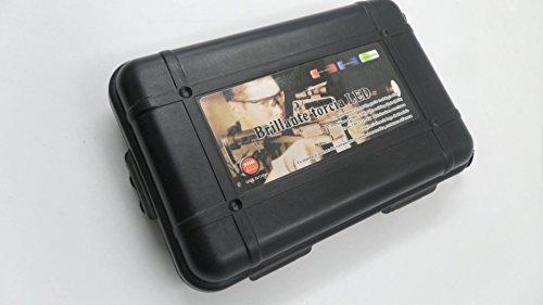 e5e10 Black Broadhead Box (Hold 12pcs Broadheads) Plastic Protector Broadhead Case Portable Convenient Hunting Archery Accessories