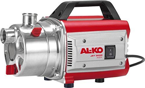 AL-KO Gartenpumpe Jet 3000 Inox Classic (650 Watt Motorleistung, 3100 l/h max. Förderleistung, 35 m max. Förderhöhe, 5-stufiges Pumpenlaufwerk)