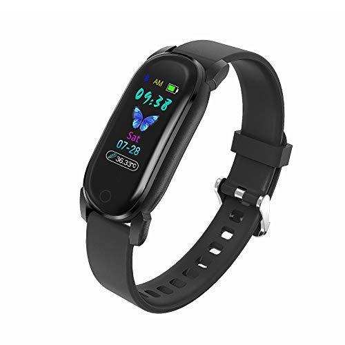 OH Exquisito Reloj Inteligente, Smartwatch Mujeres Hombres Fitness Trackers Múltiples Modos Deportivos 10 Días Vida en la Batería Seguimiento de Tarifas Cardíacas Ip68 Pedómetro a P