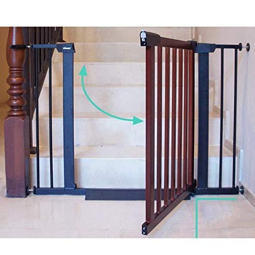 LNDDP Barreras para escaleras Barrera para niños Barrera para niños Cerca de perforación Libre de Mascotas Cerradura Doble Cierre automático