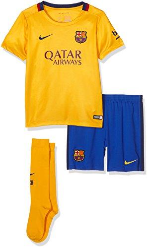 Nike FCB Away LB Kit–Neoprenanzug 2015/2016Club Barcelona Fußball Unisex, Small