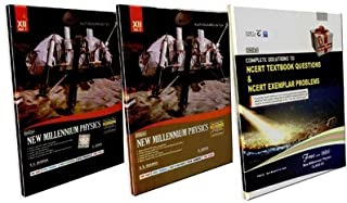 Dinesh New Millennium Physics Class -XII (Set of 2 Vols) (Free Complete Solutions to NCERT Textbook Problems & NCERT Exemplar Problems in Physics-XII)