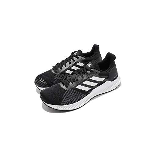 adidas Men's Solar Blaze Core Black/Footwear White Ankle-High Running - 9.5M