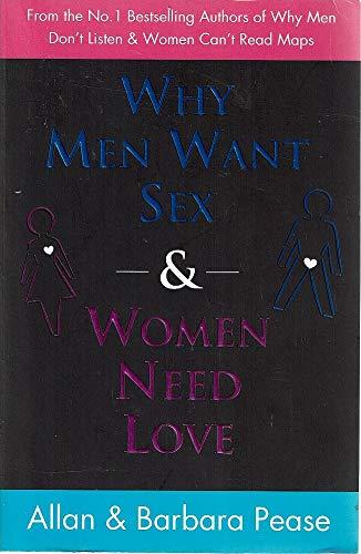 [画像:Why Men Want Sex & Women Need Love]