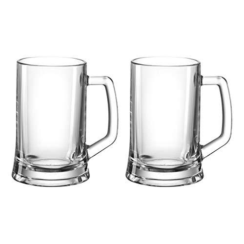 Montana:: :skol 075039 - Jarra de Cerveza (12 Unidades, Cristal, 280 ml)