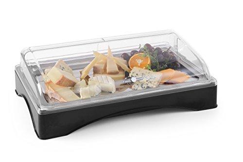 Hendi Mostrador con tapa refrigerado (Gastronorm 1/1) - juego - 555x357x(H)175 mm