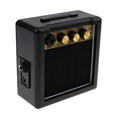 Mini Portátil 5w 9v Guitarra Eléctrica Práctica Amp Amplificador Altavoz Partes