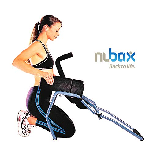 Nubax Trio Back Stretching Machine - Spinal Traction Decompression for Back Pain and Back Aches