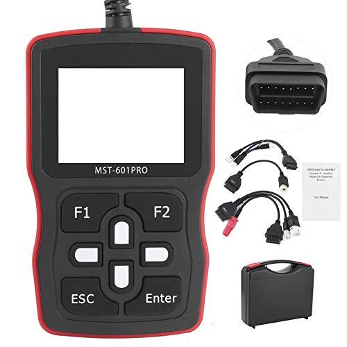 Escáner de Motocicleta OBD2 Herramienta de diagnóstico de Lector de código automotriz - Lector de código de diagnóstico OBDII de mecánico Profesional - Apto para Suzuki