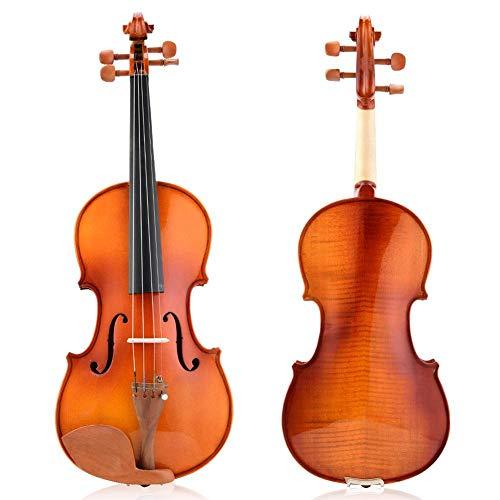 Violino 4/4 portátil firme, violino, tom preciso durável para aluno iniciante(AV-05 Mother Tiger Violin)