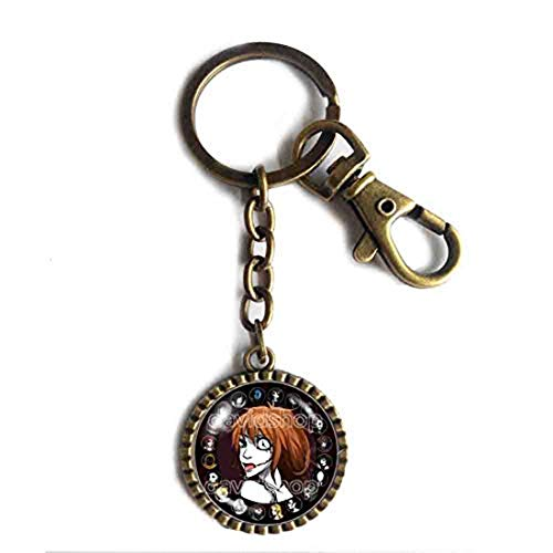 Handmade Cute For Friend Creepypasta CREEPY PASTA TICCI TOBY Key Chain Key Ring Cute Keyring Car JEFF THE KILLER Clockwork Your Time Is Up JEFF Cosplay