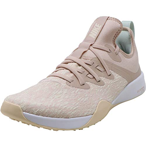 Nike Women's Foundation Elite Tr Particle Beige/Guava Ice Low Top Fabric Training Shoes - 6M