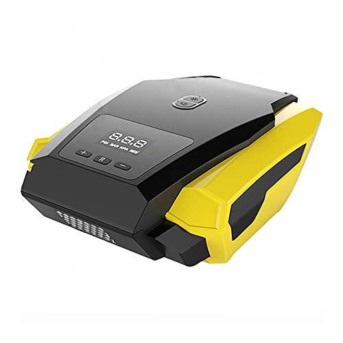 TWDYC Bomba Inflable portátil compresor de Aire con Pantalla Digital LED para Coche, inflador rápido de neumáticos de automóvil de 12 V, Mini Auto eléctrico para Trave