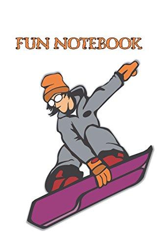 Fun Notebook: Boys Books - Mini Composition Notebook - Ages 6 -12 - Purple Skateboard Notebook