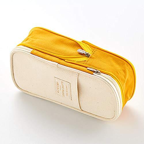 Briefpapier Box Macarons Farbabstimmung japanischen und koreanischen Stil versenkbare Leinwand variabler Körper große Kapazität Federmäppchen