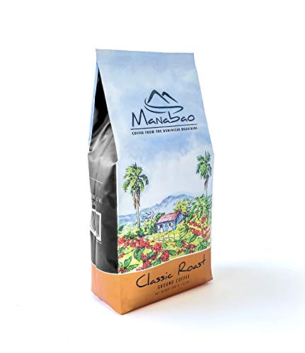 Manabao Classic Roast - Ground coffee from the Dominican mountains