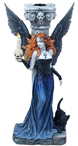 Estatua Oraculo Da Noite Anjo Gotico Veronese 07105