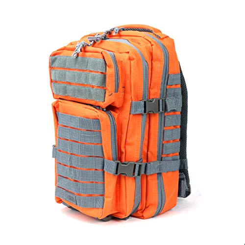 OSAGE RIVER Fly Fishing Backpack, Tackle and Rod Storage, Orange