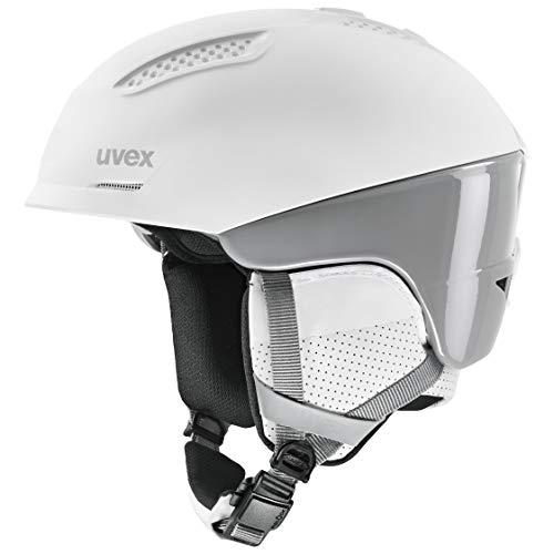 uvex Unisex- Erwachsene, ultra pro Skihelm, white/grey, 55-59 cm