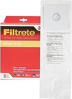 Best 3M 68703 Filtrete NuTone CV-391 Micro Allergen Vacuum Bag,White,3-Pack Review