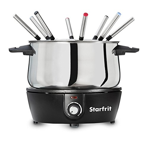 Our #5 Pick is the Starfrit Electric Fondue Pot to Use at Home