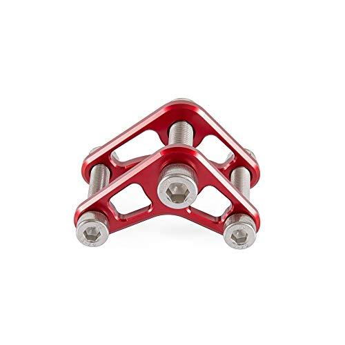 JIANXING Durable con Estilo para 1 Set Sprint Trastro Amortiguador Scooter Base Baja Altura Tornillo de Soporte para Pia.ggio Ves.PA Sprint Sprint LXV150 GTS250 Fácil de Instalar (Color : Red)