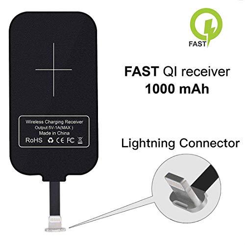 Nillkin iPhone Wireless Charging Receiver Magic Tag Qi Wireless Charger Receiver 1000mAh for iPhone 7/6/6S/Plus