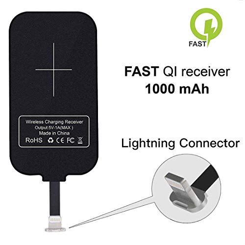 Nillkin iPhone Wireless Charging Receiver Magic Tag Qi Wireless Charger Receiver 1000mAh for iPhone 7/6/6S/Plus Michigan