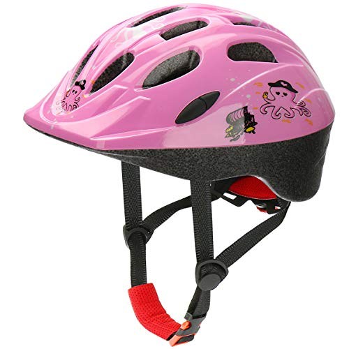 AGH Kids Adjustable Helmet, Suitable for Toddler Kids Ages 3-7 Boys Girls, Multi-Sports Safety Cycling Skating Scooter Helmet with Fun Designs