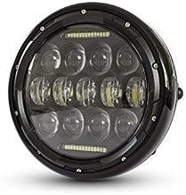 Homologado LED Motos Faro 7 para Project Caf/é Corredor o Streetfighter