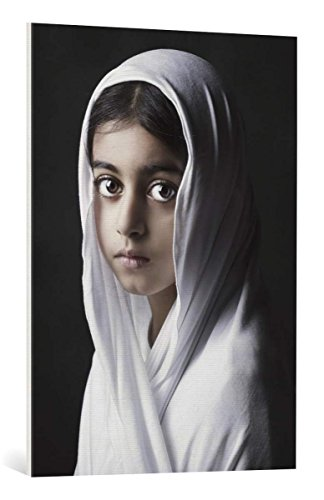 kunst für alle Leinwandbild: Fadhel Malak - hochwertiger Druck, Leinwand auf Keilrahmen, Bild fertig zum Aufhängen, 70x100 cm