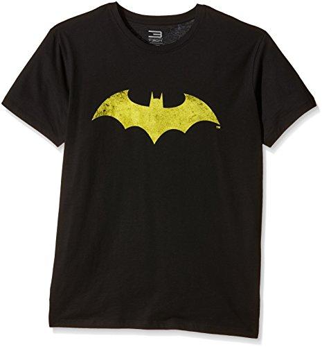 Jack & Jones Tech Batman 12103987-1 T-Shirt à Manches Courtes et col Rond pour Homme Noir Taille M