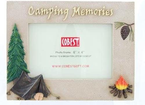 Camping Memories All stores are sold Photo Frame Manufacturer OFFicial shop 4x6 8-inch