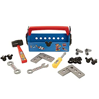 Mickey and The Roadster Racers Tool Box 50 Piece Contruction and Building Tools for Kids Role Play Set