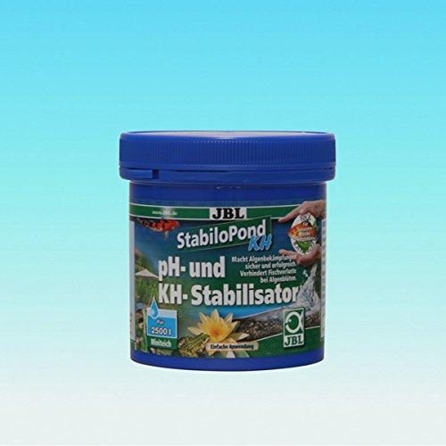 JBL- StabiloPond KH 250g für 2500 Liter