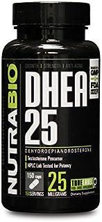 NutraBio DHEA (25mg) - 150 Capsules (dehydroepiandrosterone) by NutraBio