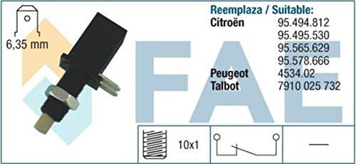 SPECTROMATIC Interruptor de luz de parada 24070 Citroen Peugeot 95494812 95495629 453402