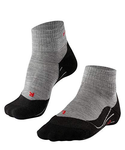 FALKE Herren Family 3-Pack M SO Socken, Blickdicht, Schwarz (Black 3000), 43-46 (3er Pack)