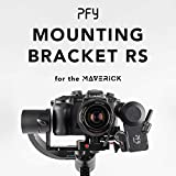 Soporte de Montaje TransMount de 15 mm Rod MOUNTING BASEPLATE - Follow Focus Manfrotto Compatible con cámaras GH5 o Black Magic Pocket 4k en PFY Maverick Gimbal
