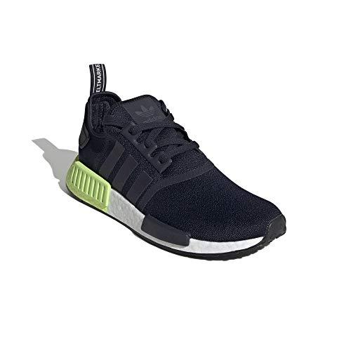 adidas Hombre NMD_R1 Zapatillas Negro, 43 1/3
