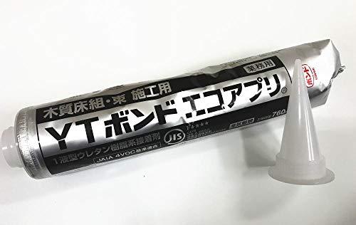 コニシ YTボンド エコアプリ 木質床組・束施工用 760ml【1本単位/ノズル1個付】